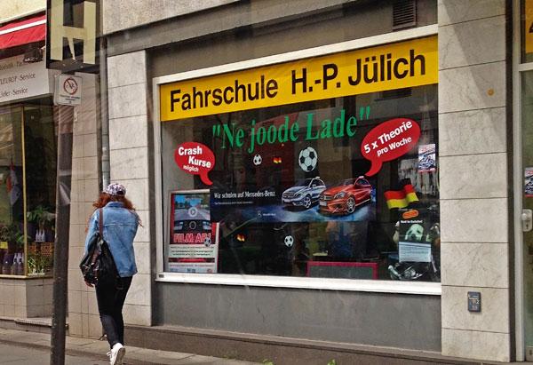 Fahrschule Jülich - ne joode Lade