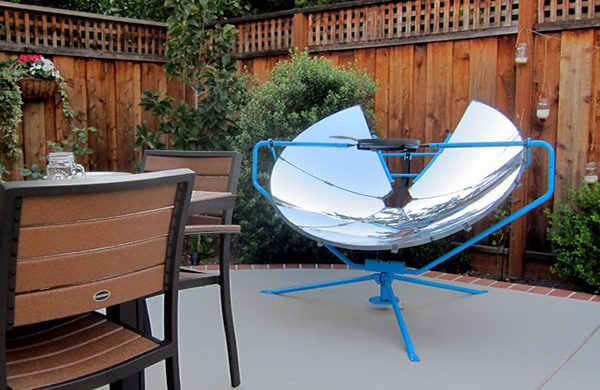 Solar Powered Grill ~ Solar panels could be coming to a barbecue near you