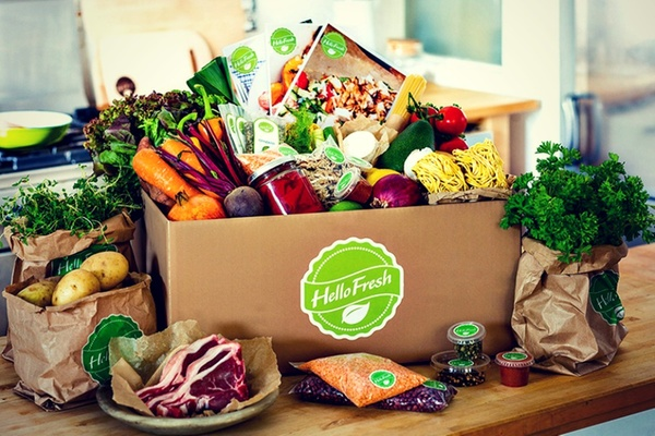 Hello Fresh meal delivery service is available on Groupon