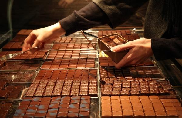chocolaterie paris Jean-Paul Hévin