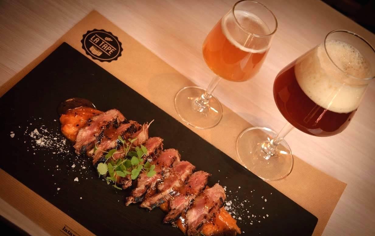 La Tape, cerveza artesanal y comida en Madrid