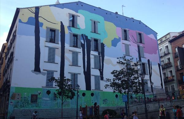 El barrio de Lavapiés en Madrid