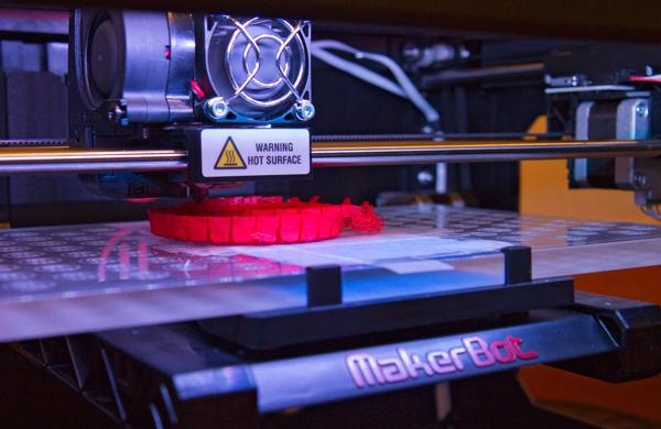 3-D Printing at Chicago's Harold Washington Library