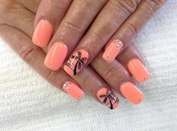 Nail designs for caribbean vacation : Five standout manicures from saint louis nail salons