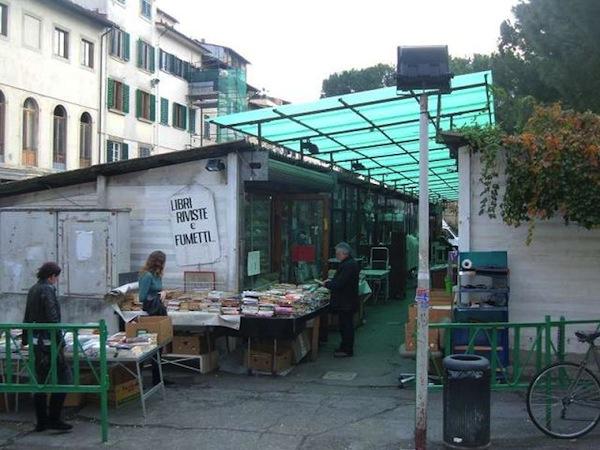 mercato pulci firenze libri