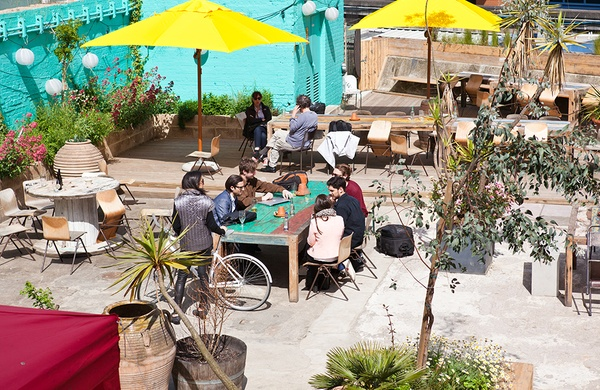 outdoor eating london