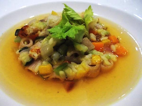 minestrone freddo Canzian Milano