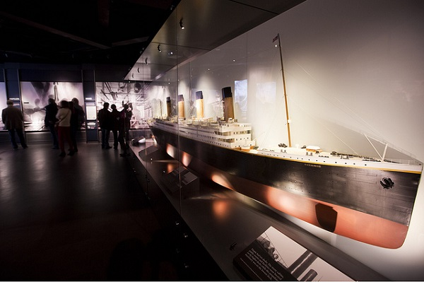 Inside the Titanic exhibition
