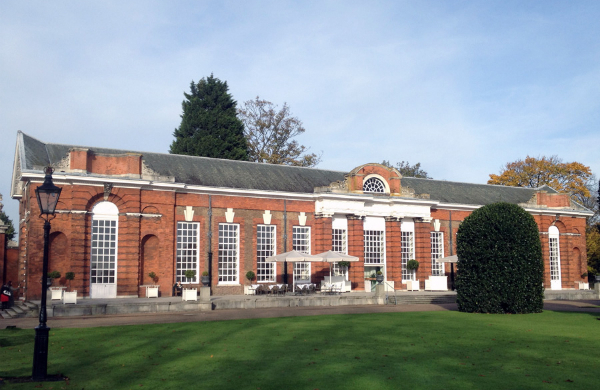 The Orangery in Kensington Palace Gardens