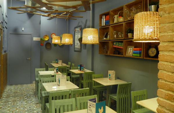 La Clueca, restaurante de tortillas de patatas en Sevilla