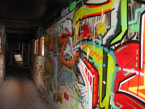 Im ehemaligen Kinderkrankenhaus Weissensee finden Kreative viel Platz