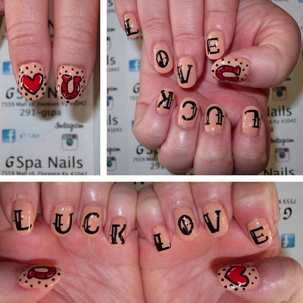 lady luck manicure