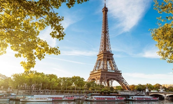 Top 10 International Travel Destinations Paris 600c360