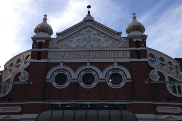 The roof of Belfast's Grand Opear House
