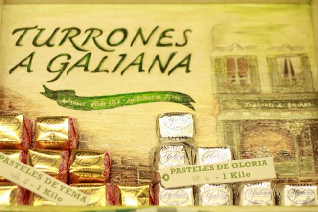 Turrones Galiana, donde comprar turrones en Valencia