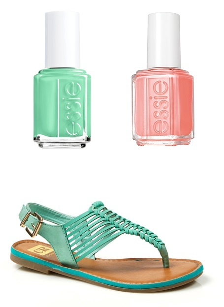 9f5ea2ffc How to Match Your Pedicure Polish with Your Sandals