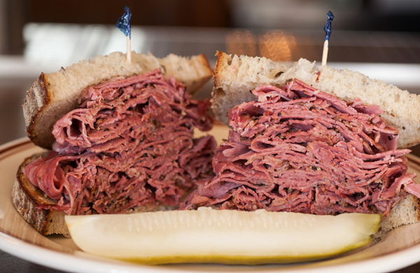 The Pastrami Sandwich at Dillman's in River North