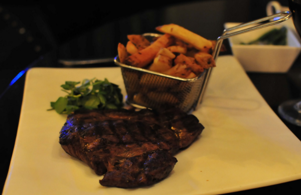 Rump Steak from the Grill on the Corner