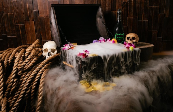 Best Cocktail Served in a Treasure Chest That Encourages Strangers to Take Photos with You