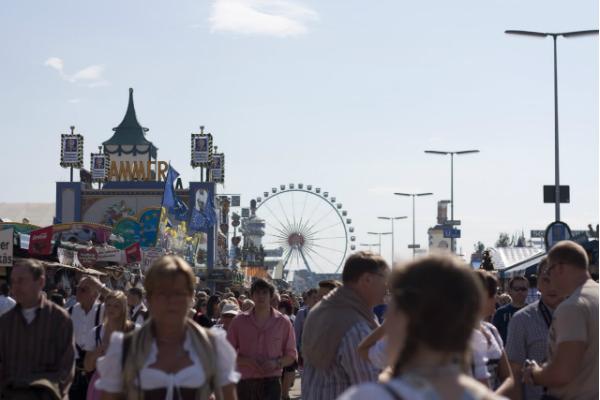 Oktoberfest Festwiese