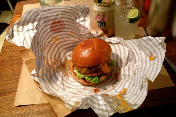 Patty and Bun Burger in London