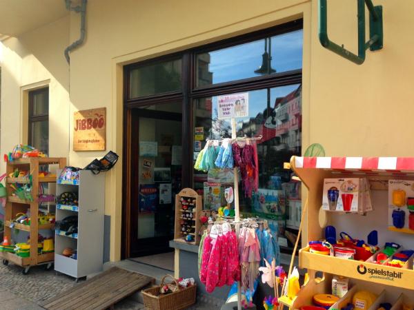 Kindersachen in Friedrichshain: Der Stoff, aus dem nicht nur Kinderträume sind