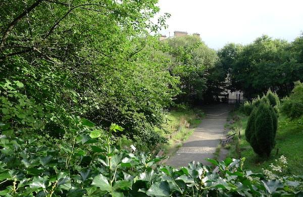 Jardin insolite Paris
