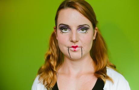 Blood Free Halloween Makeup Ventriloquists Dummy