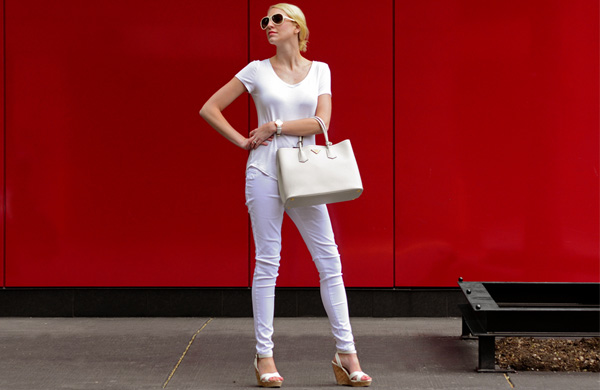 There's More to Wearing All White Than Not Spilling