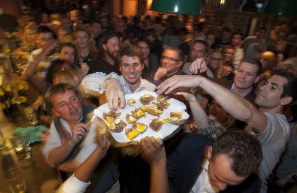 The Scotch Egg Challenge at the The Ship Pub in London