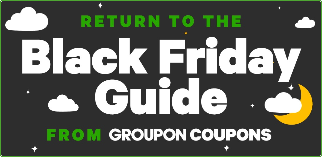 Groupon Coupons Black Friday deals 2020