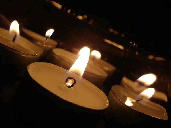 illuminazione candele