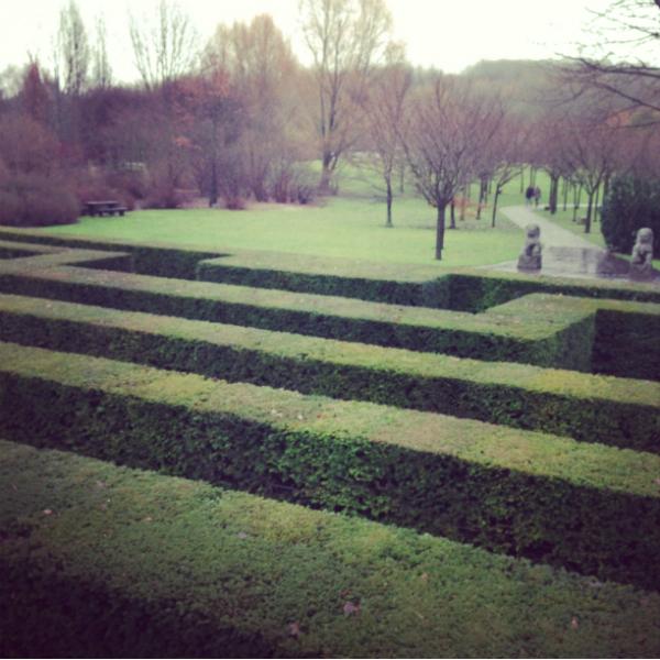 Lomography in den Gärten der Welt in Marzahn