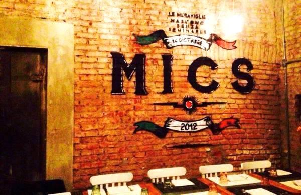 Ristorante Mics Milano: un mix tra tradizione romana e milanese
