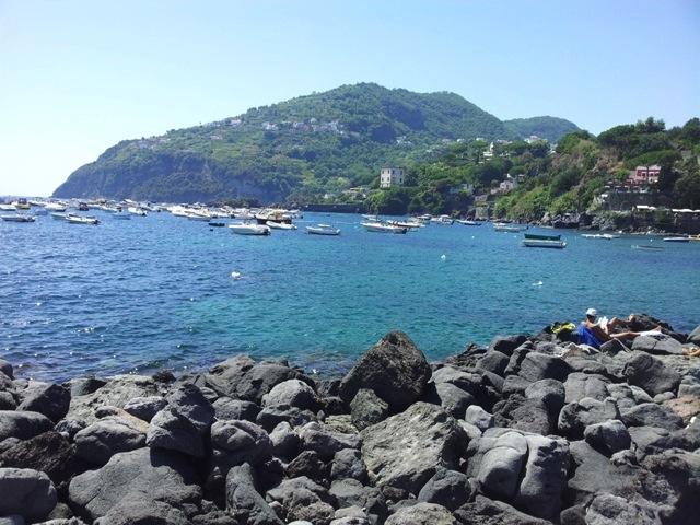 Spiaggia Cartaromana Ischia
