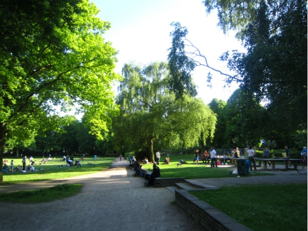Fischers Park in Hamburg
