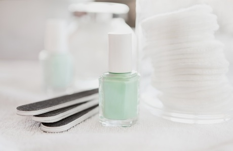 removing gel polish at home without just picking it off
