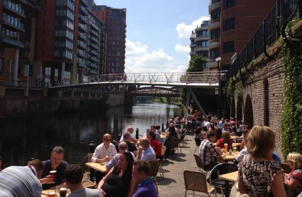 Restaurants in Manchester - Best for Al Fresco Dining