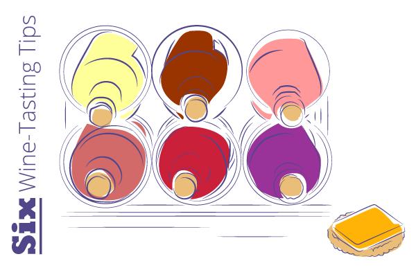 six wine tasting tips