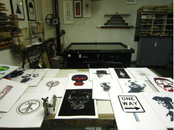 Siebdruck und Galerie Bäng