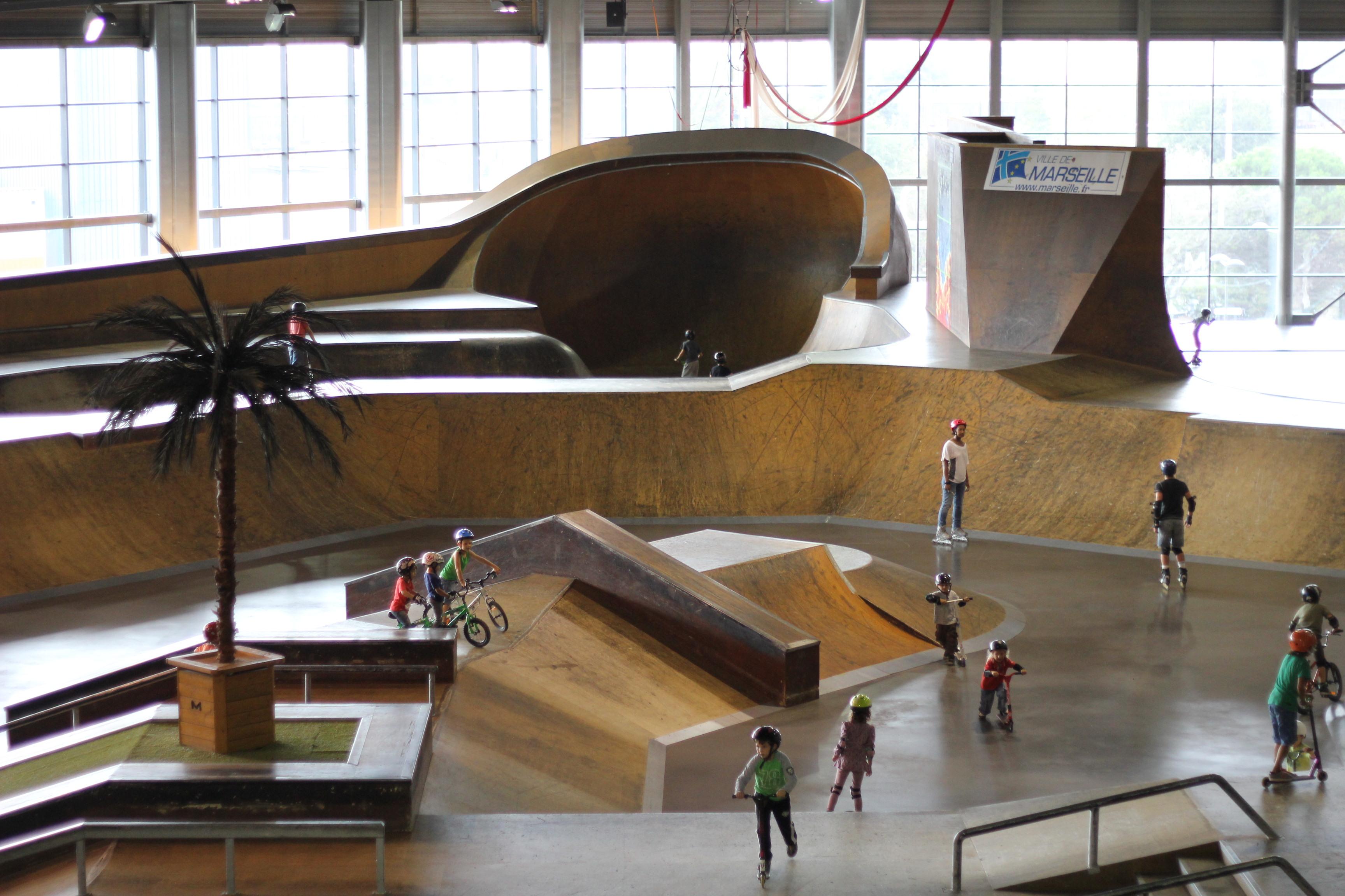 Riders ou patineurs : vivez des sensations de liberté au Palais de la Glisse !