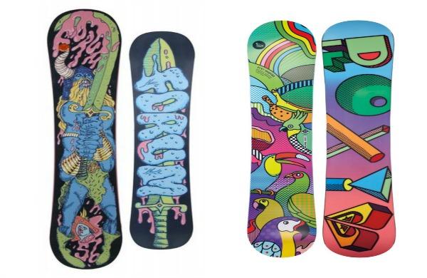 tavole snowboard personalizzate