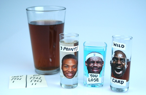A Drinking Game for Every Series of the NBA Playoffs: Round 2