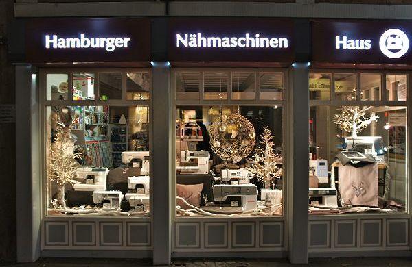 Das Nähmaschinenhaus in Hamburg