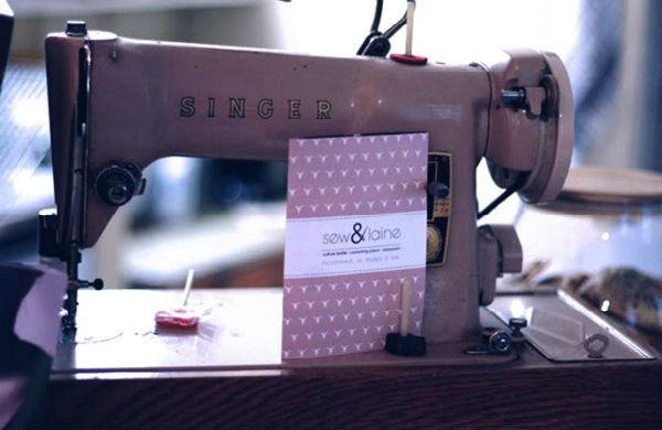 Sew & Laine, la couture autrement …