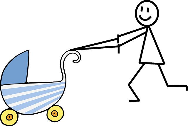 Passeggino bambino