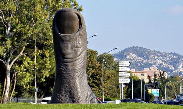 Pouce de César à Marseille