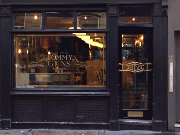 Tommy Guns Barber Shop London
