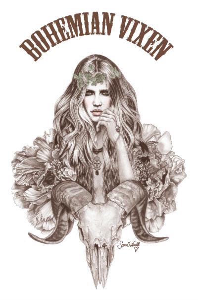 Bohemian Vixen by Sara O Neill