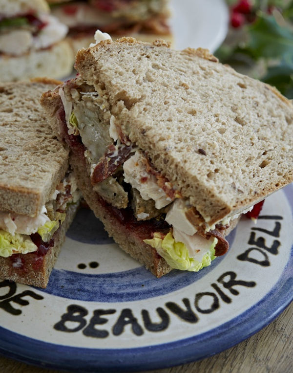 Best Christmas Sandwiches in London - De Beauvoir